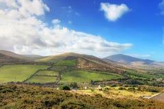 典型爱尔兰横向的夏天 库存图片