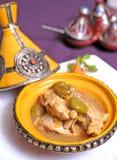 典型的中东食物 免版税库存照片