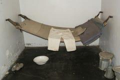 典型的供应和送回细胞,阿德莱德监狱,阿德莱德, Sou 免版税库存照片