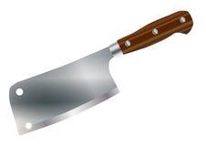 典型的切肉刀 库存例证