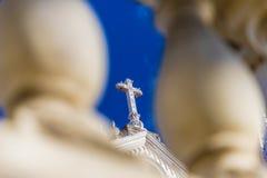 典型的圣安娜教会 免版税库存照片