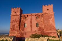 典型的城楼军事 图库摄影