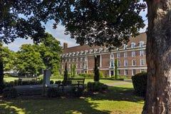 典型的大厦在格林威治,伦敦,英国 免版税库存图片