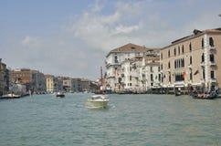 典型的威尼斯式场面 免版税图库摄影