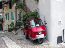典型的意大利车 免版税库存图片