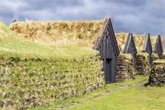 典型的房子冰岛 库存图片