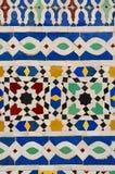 典型的摩洛哥马赛克 免版税图库摄影