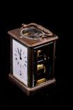 典型的机械闹钟 库存照片
