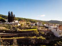 典型的村庄在特内里费岛 免版税图库摄影