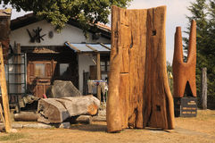 典型的村庄 免版税图库摄影