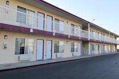典型的汽车旅馆 库存图片