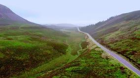 典型的看法在苏格兰高地-空中寄生虫英尺长度 影视素材