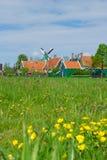 典型的荷兰语村庄 免版税库存照片