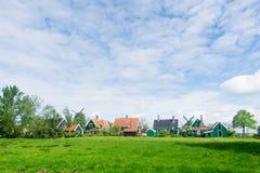 典型的荷兰语村庄 免版税库存图片