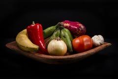 典型的菜哥斯达黎加 免版税库存照片