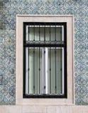 典型的葡萄牙视窗 库存照片
