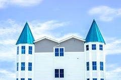 典型的豪宅在开普梅,新泽西海滨胜地  库存照片