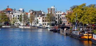 典型的运河议院 免版税库存照片