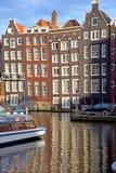 典型的运河议院 免版税图库摄影