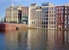典型的运河议院 图库摄影
