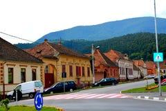 典型的都市风景在镇科德莱亚 免版税库存照片