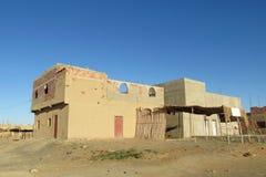 典型的阿拉伯房子arcitecture 库存图片
