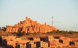 典型的阿拉伯房子arcitecture 库存照片