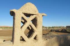 典型的阿拉伯房子arcitecture 免版税库存图片