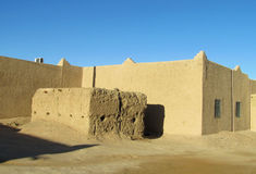 典型的阿拉伯房子arcitecture 图库摄影