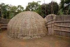 典型的非洲家 免版税图库摄影