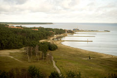 典型的风景,立陶宛 免版税库存图片