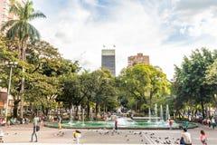 典型的麦德林哥伦比亚 免版税库存照片