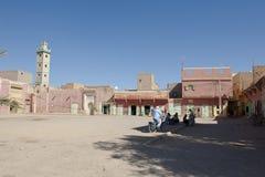 典型的maroccan村庄 免版税库存图片