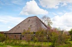 典型荷兰语农厂的房子 免版税库存照片