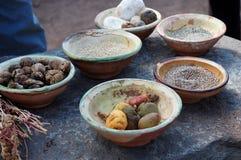 典型食物的秘鲁人 免版税库存照片