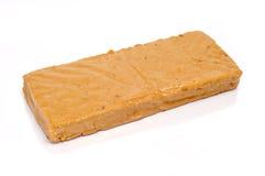 典型de jijona西班牙甜的turron 免版税库存照片