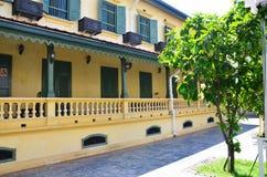 经典大厦样式在曼谷泰国 免版税库存照片