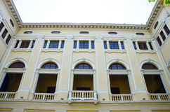 经典大厦样式在曼谷泰国 库存照片