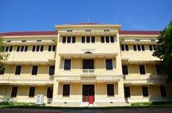 经典大厦样式在曼谷泰国 免版税图库摄影