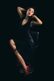 经典好莱坞歌剧女主角 图库摄影