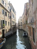经典威尼斯运河 免版税库存图片