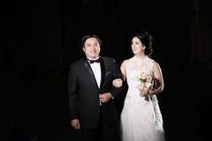 经典婚礼 免版税库存图片