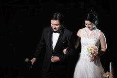 经典婚礼 库存图片