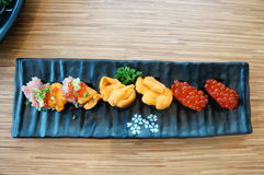 经典寿司 免版税库存图片