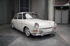 经典德国汽车,大众1600 TL 库存照片