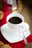 经典意大利人Moka咖啡 免版税库存照片