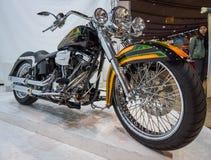 经典摩托车哈利戴维森 库存照片