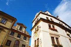 经典旅馆在布拉格 库存图片