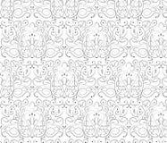经典样式花饰样式 免版税库存图片
