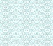 经典样式锦缎装饰品样式 免版税库存图片
